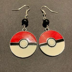 3/$30 Pokémon Pokeball Beaded Earrings